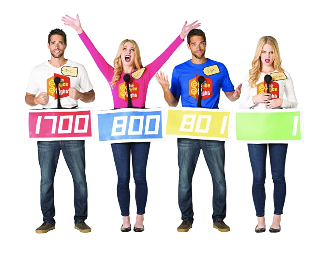 Family Halloween Costumes The Price Is Right