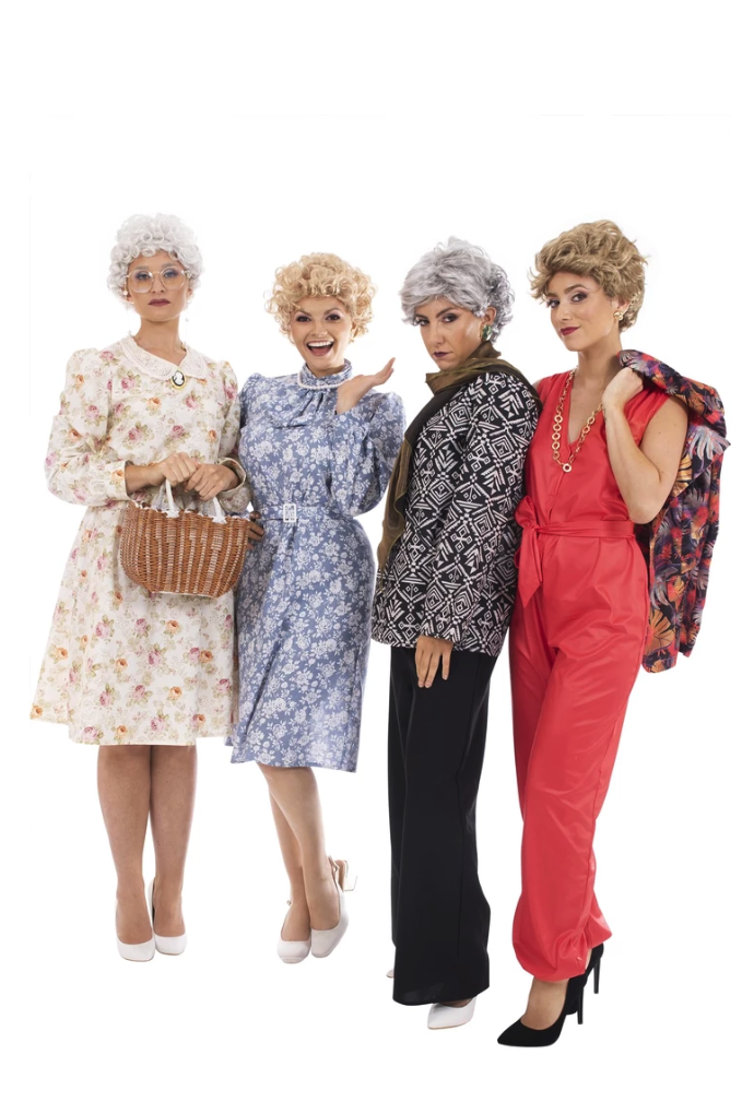 Family Halloween Costumes Golden Girls