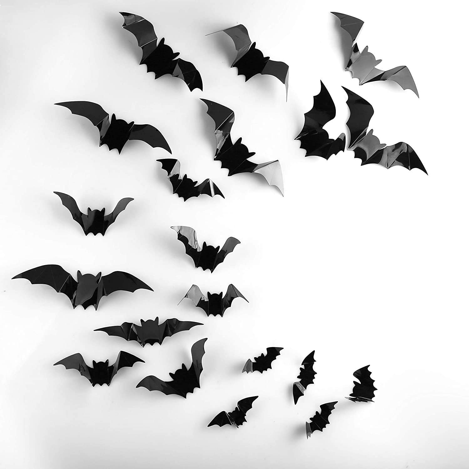3D Scary Bats Wall Stickers
