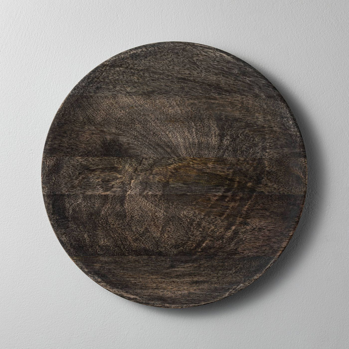 Distressed Wood Plate Charger
