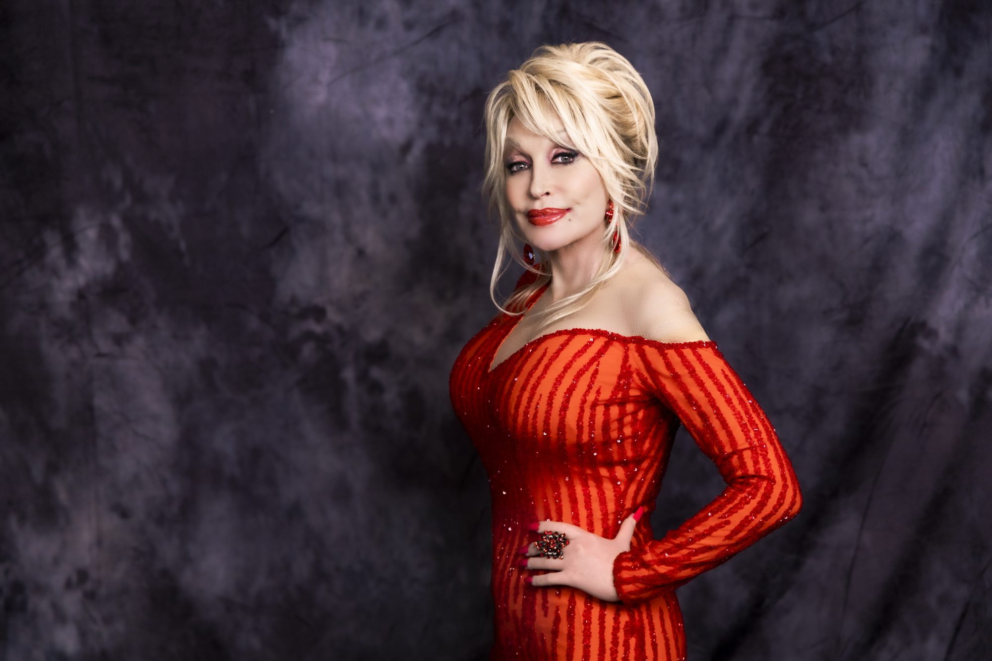 "Dolly Parton ""A Holly Dolly Christmas"" Headshot"