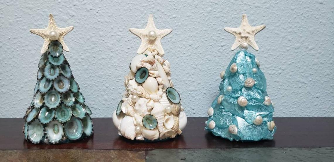 Seashells Christmas Tree