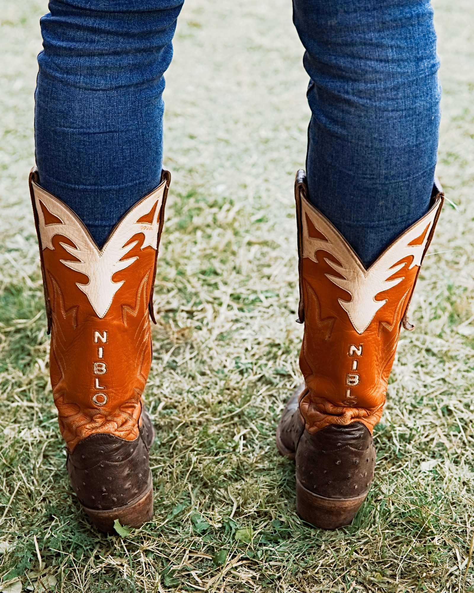Cowboy Boots at the Perini and Wagstaff Family Thanksgiving in Buffalo Gap, TX
