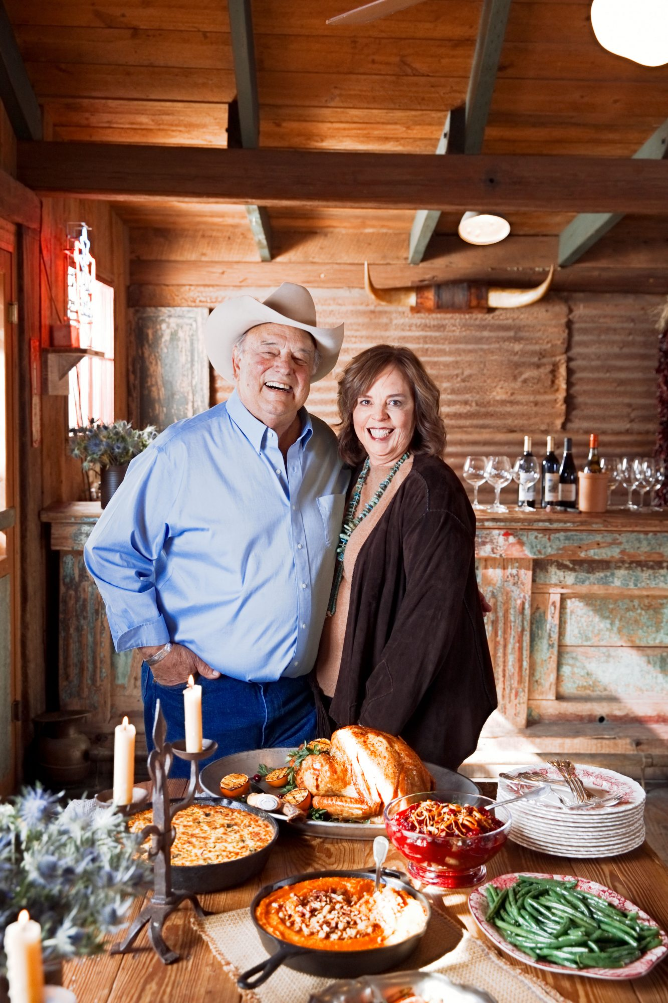 Tom and Lisa Perini in Buffalo Gap, TX