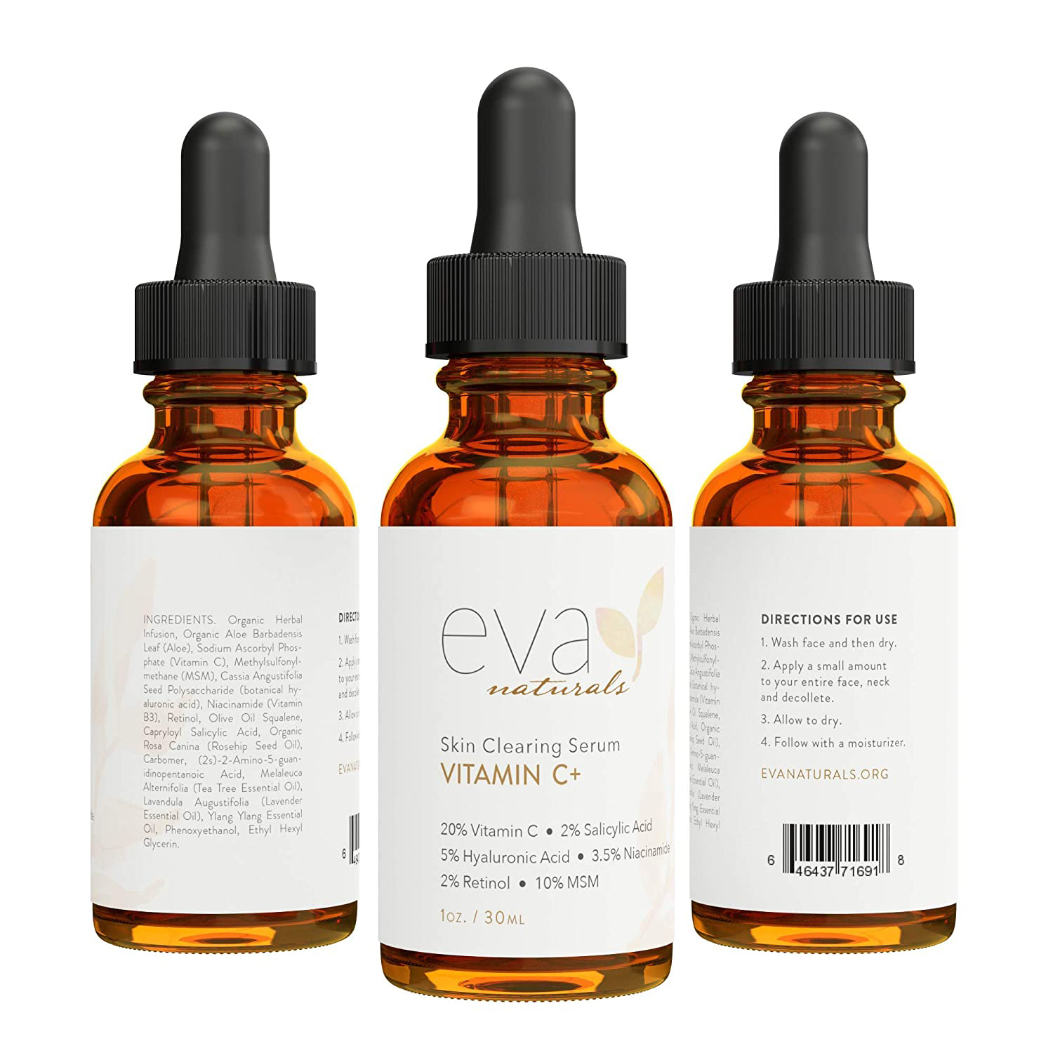 Eva Naturals Vitamin C Serum Plus