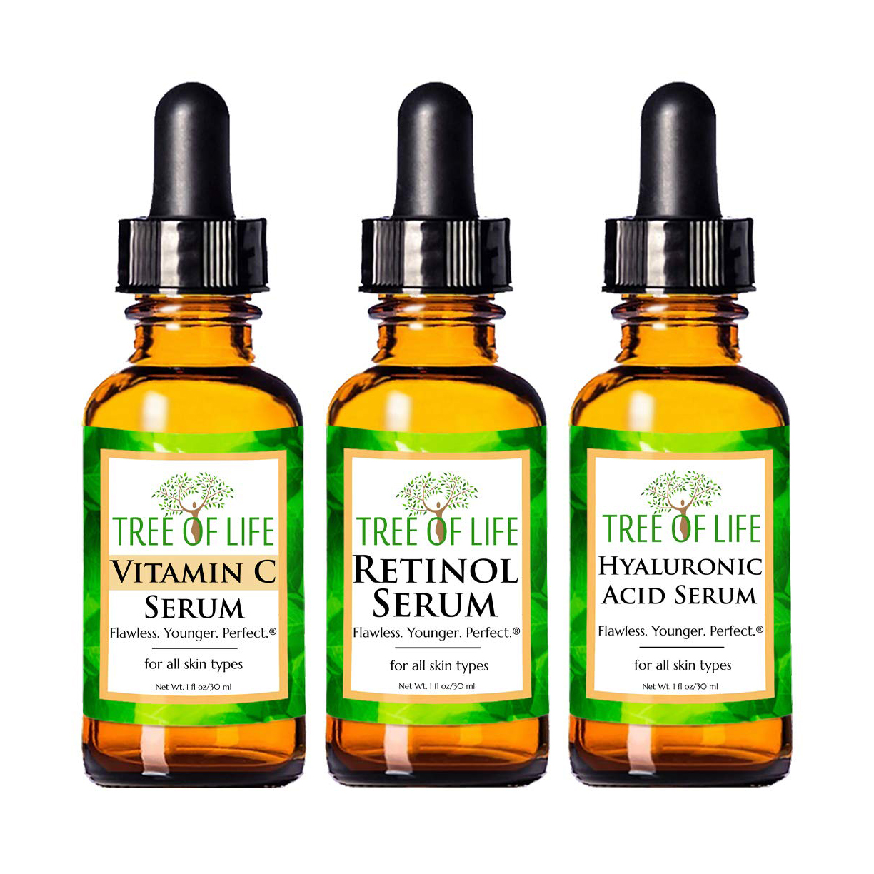 Tree of Life Antiaging Serum Trio