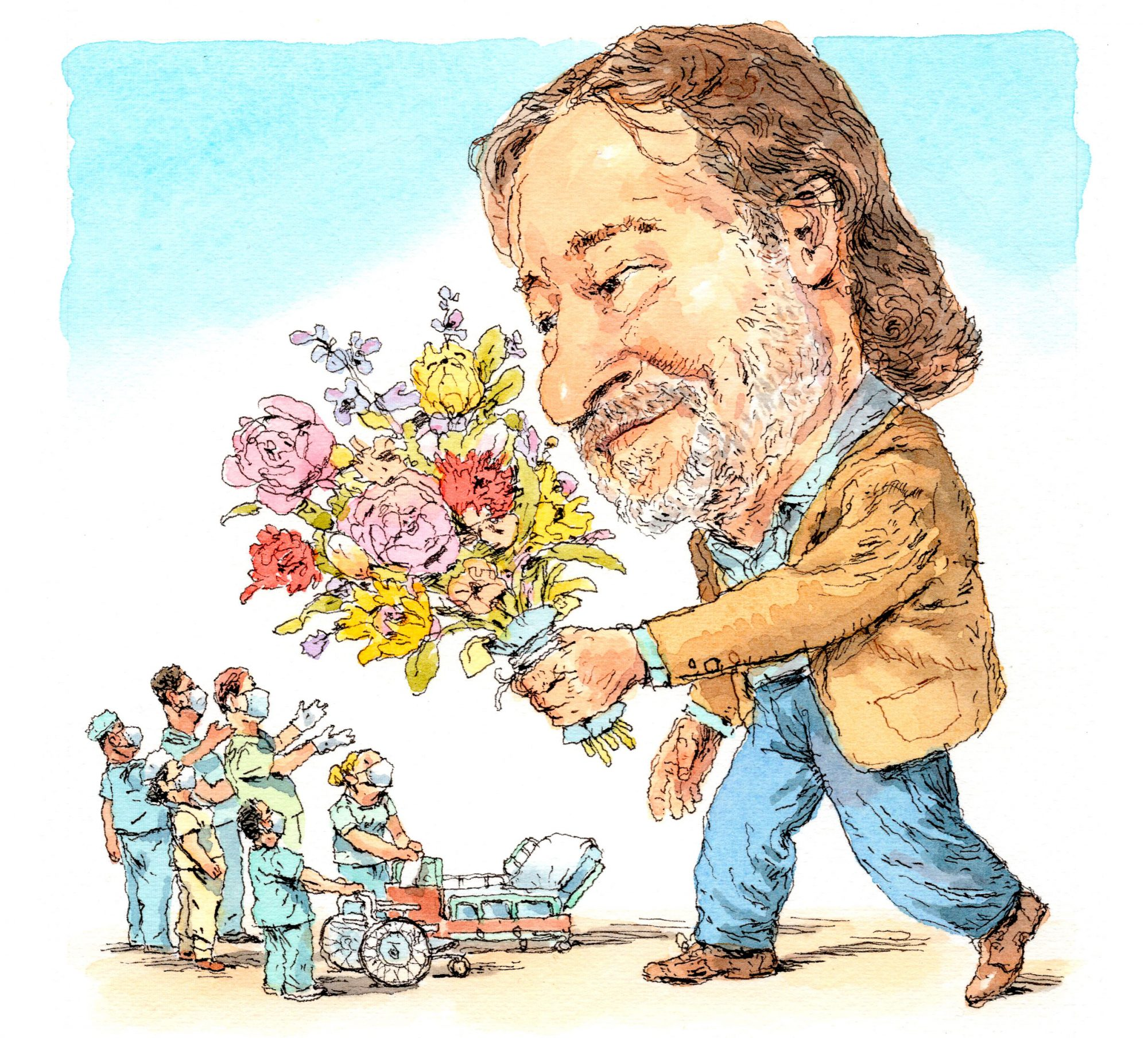 Rick Bragg Thank You Medical Workers