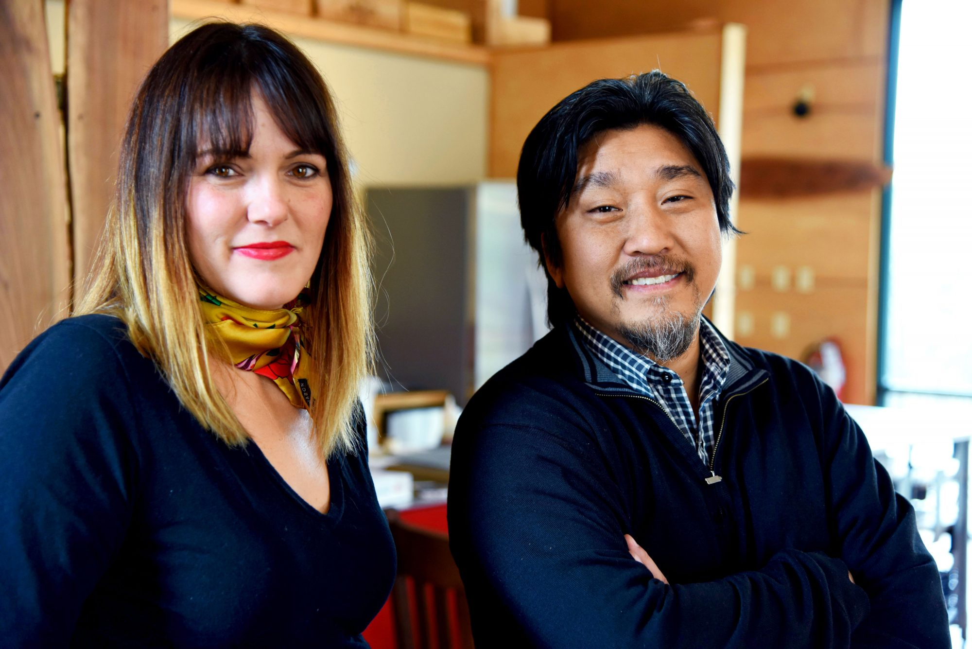 Lindsey Ofcacek and Edward Lee of The LEE Initiative in Louisville, KY