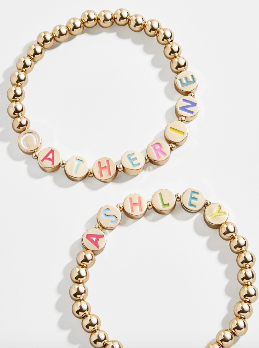 BUY IT: $40; baublebar.com                             Because you're never too old for friendship bracelets.