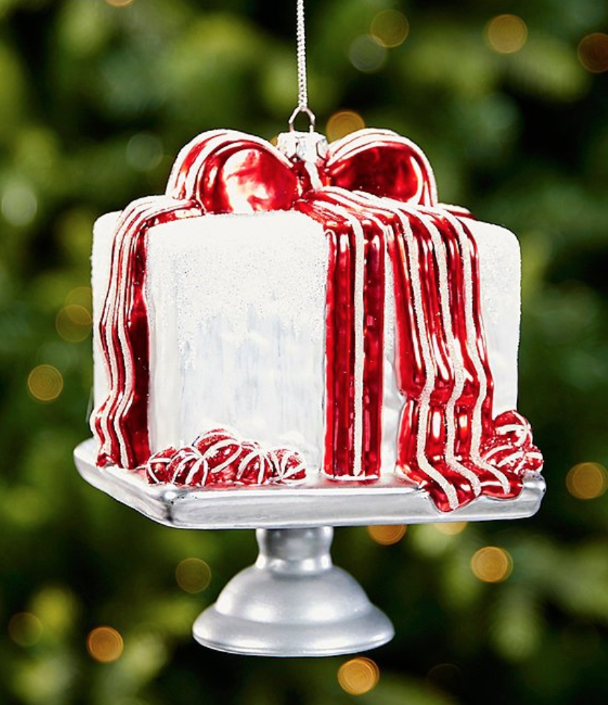 BUY IT: $18; dillards.com                             Trim the Southern Living loyalist's tree with an ornament celebrating our annual December cover cake.