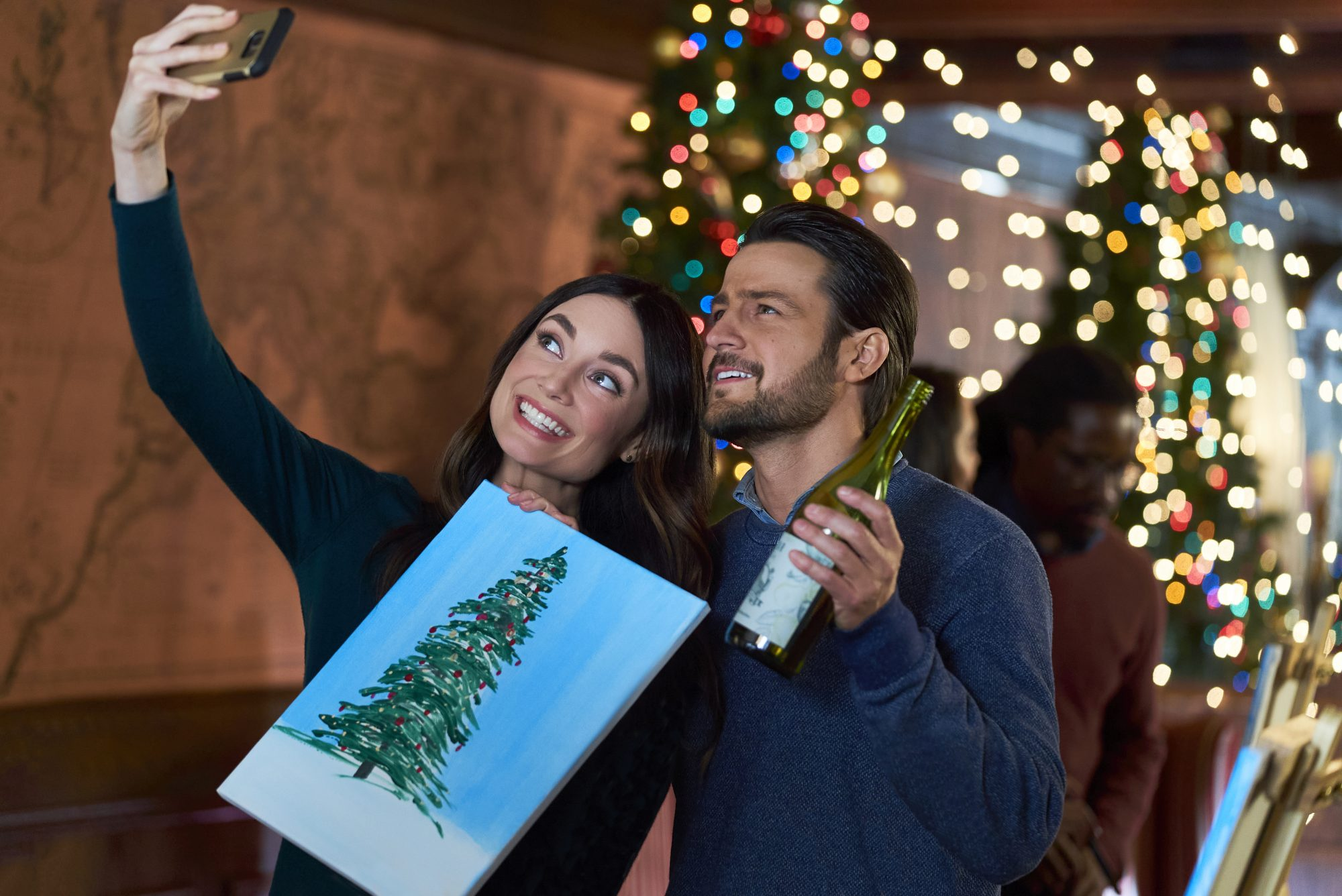 On the 12th Date of Christmas Tyler Hynes and Mallory Jansen