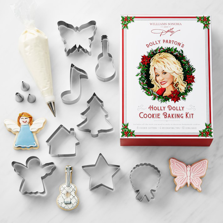 Dolly Parton Christmas Cookie Cutters