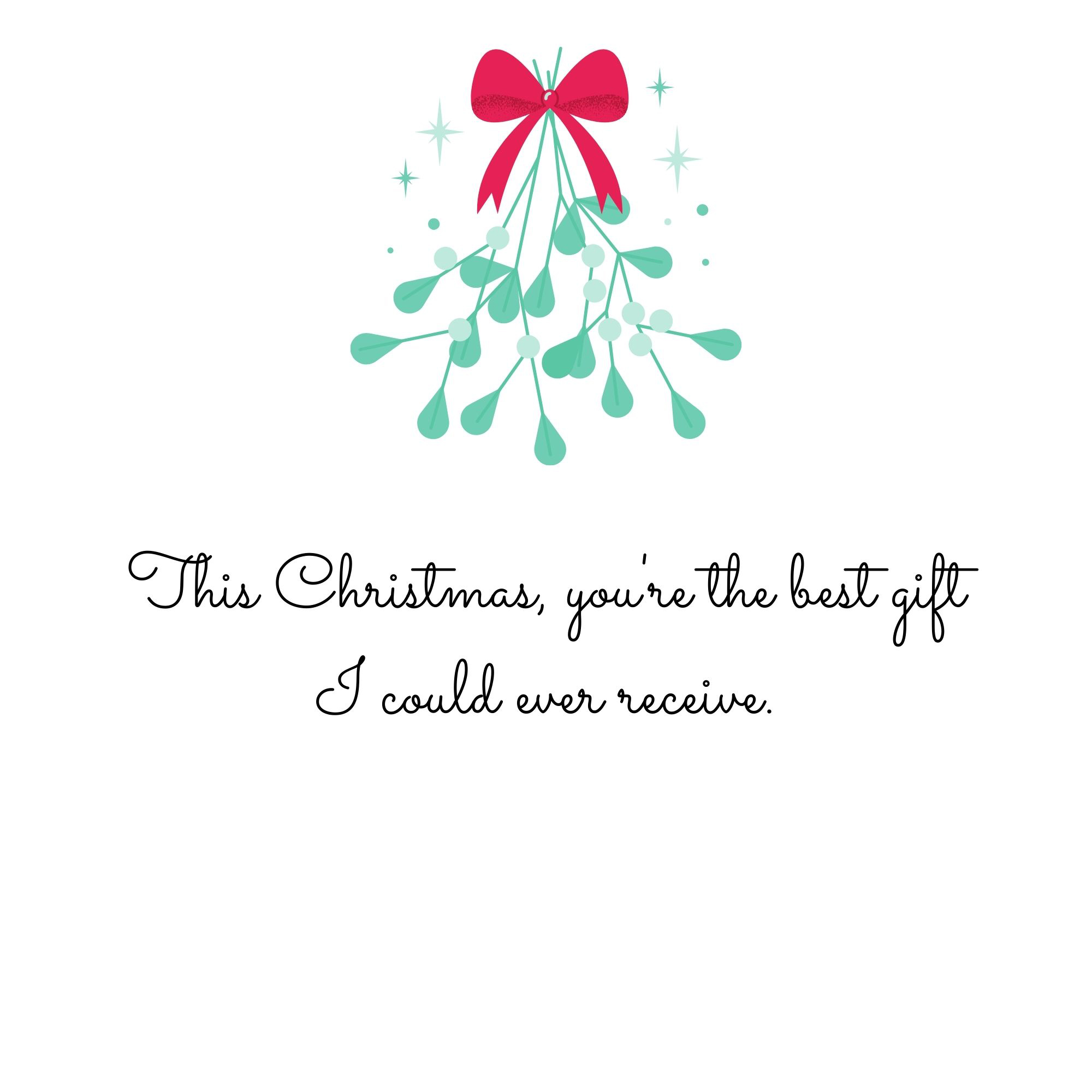 This Christmas You're the Best Gift