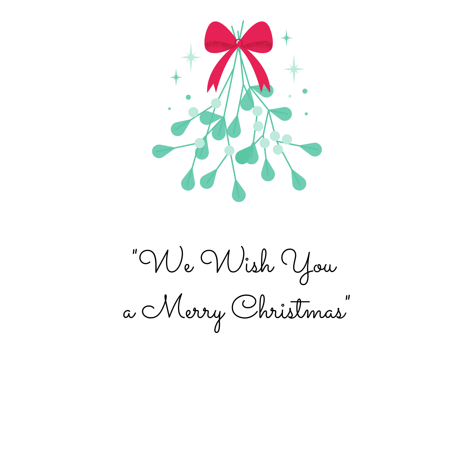 """""""We Wish You a Merry Christmas"""""""