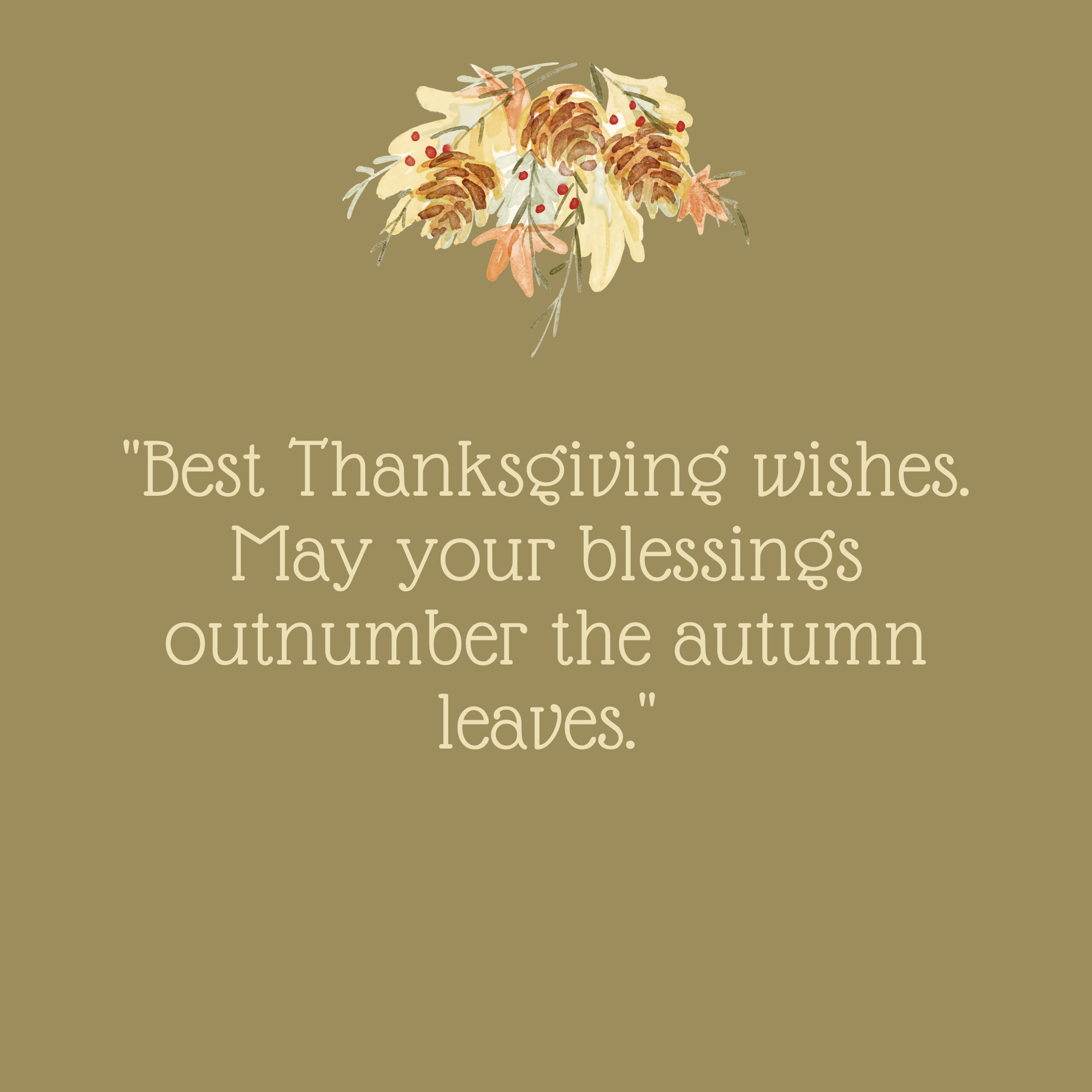 Best Thanksgiving Wishes Quote