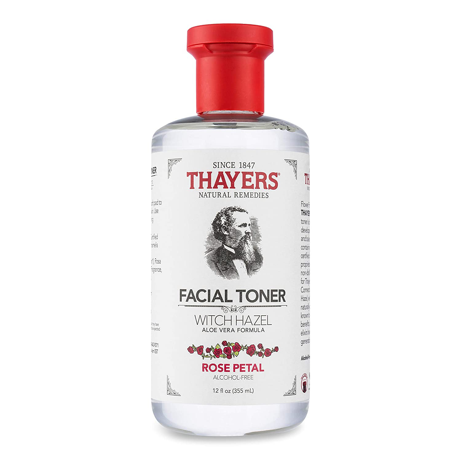 Thayers Witch Hazel Facial Toner with Rose Water and Aloe Vera