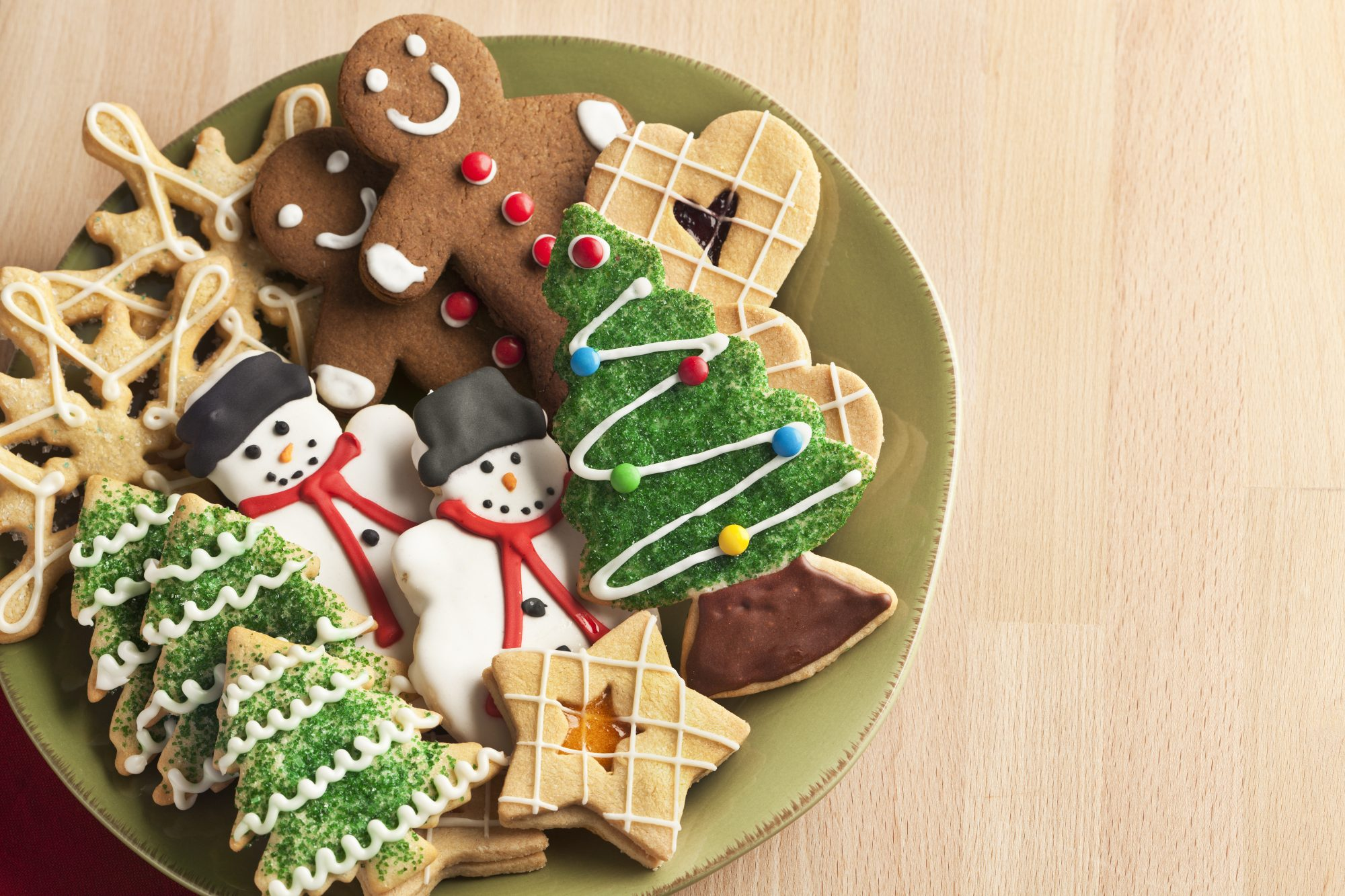 Decorated Christmas Cokies