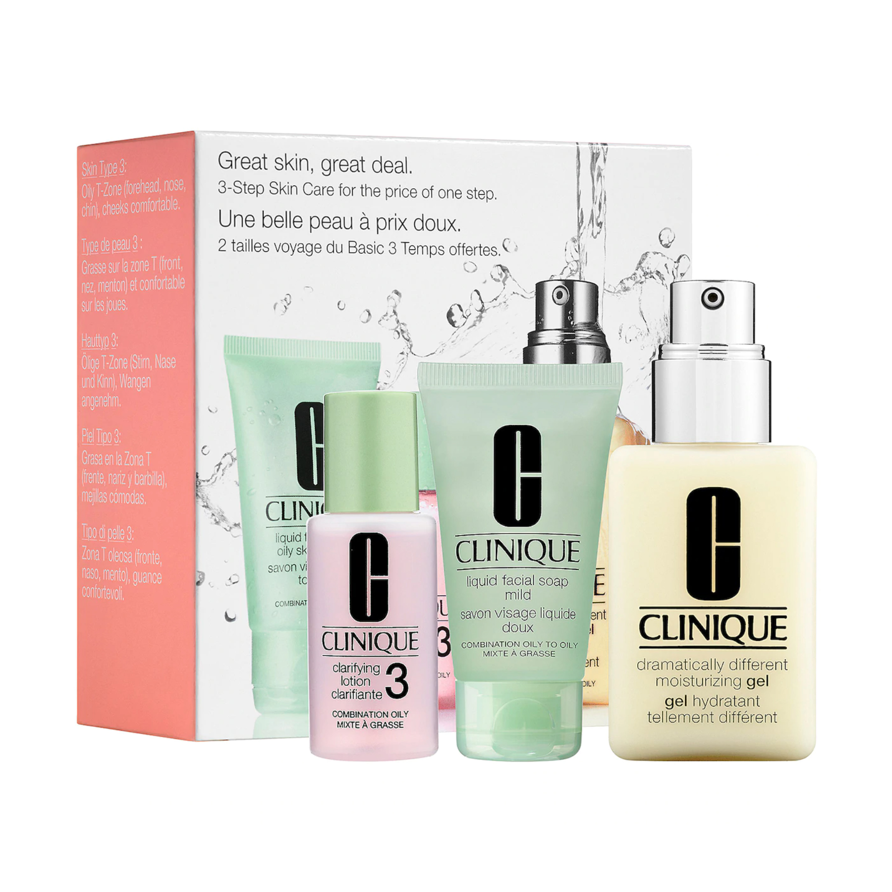 Clinique Great Skin Great Deal Set