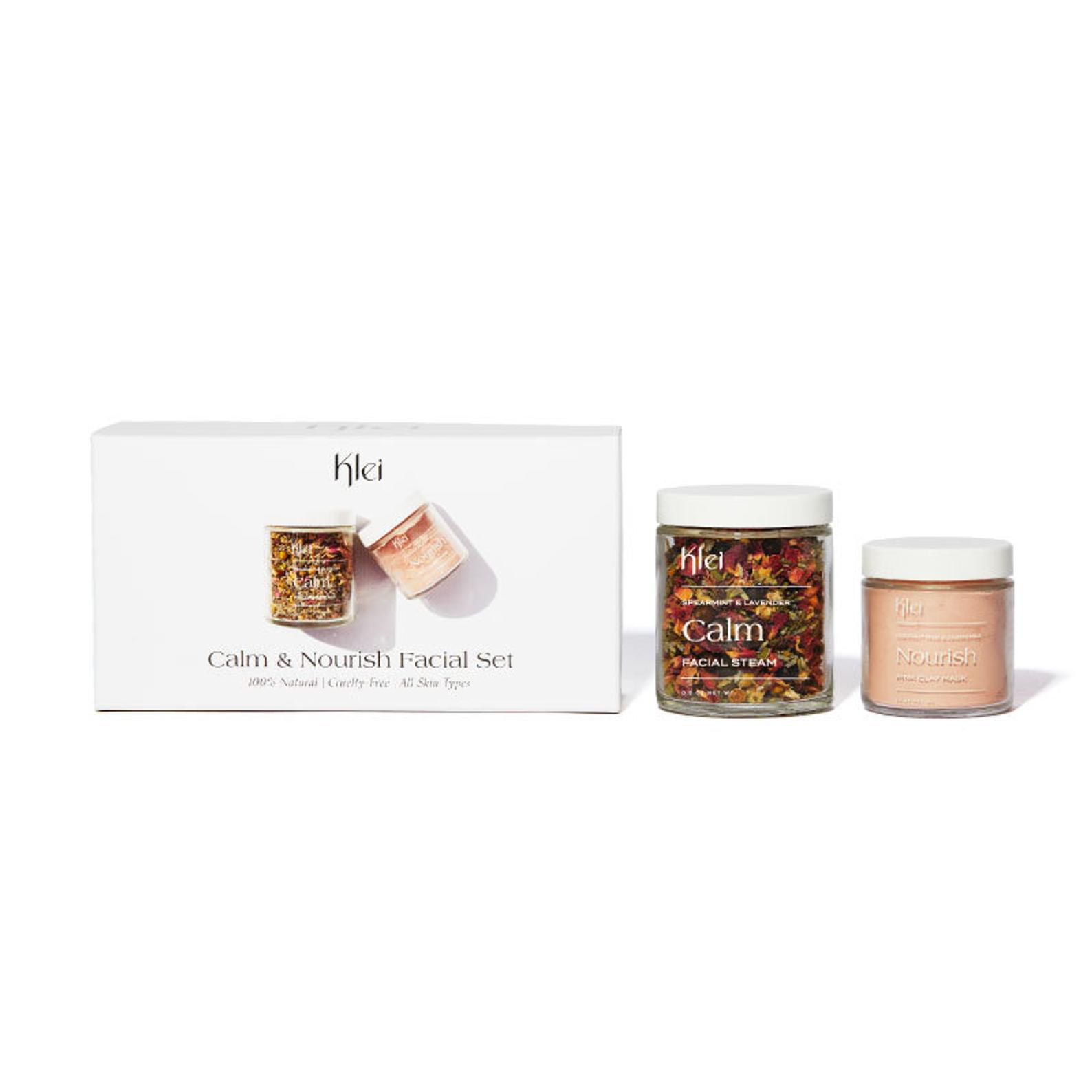 Klei Calm & Nourish Facial Set