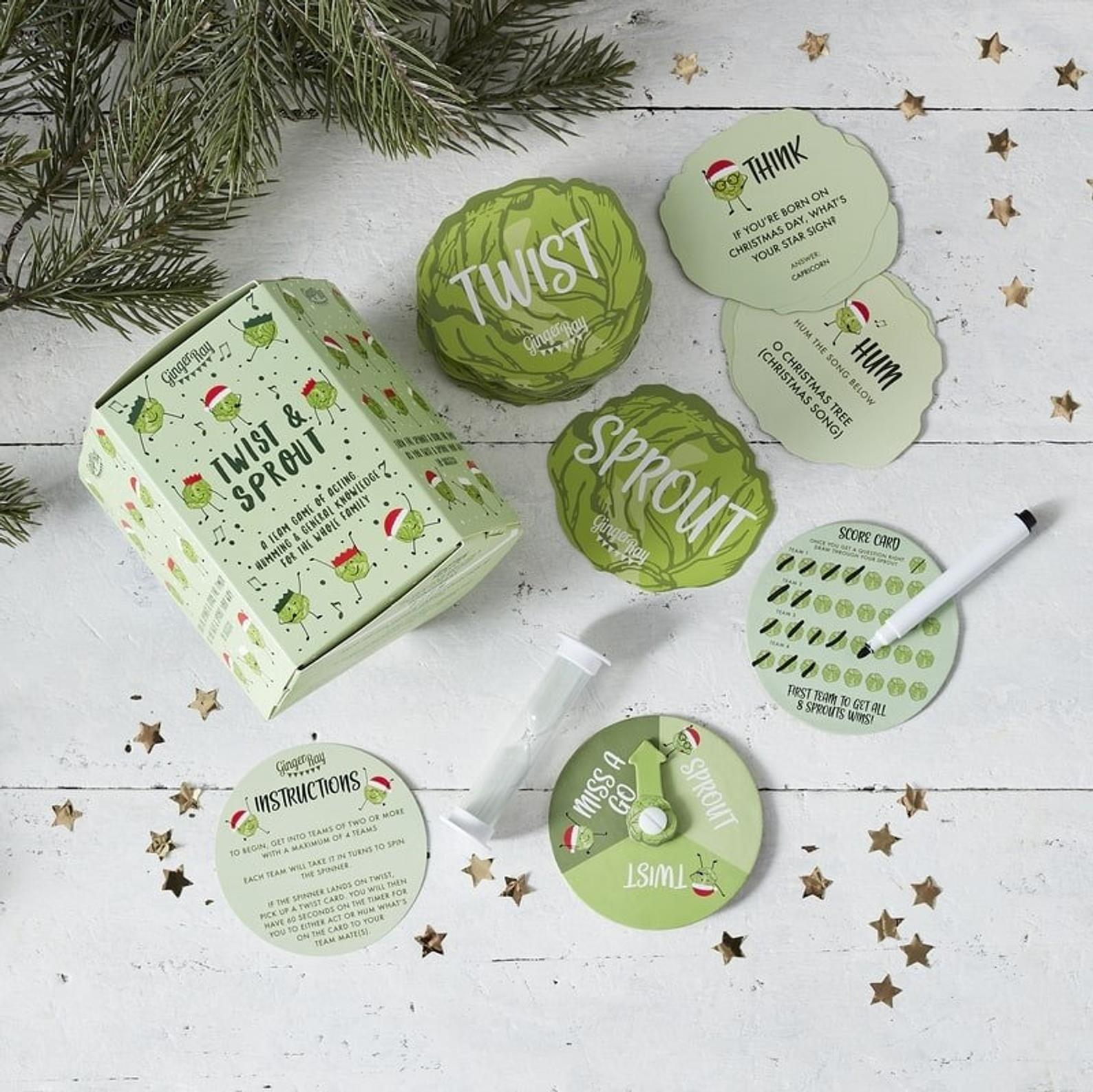 Twist & Sprout Christmas Game