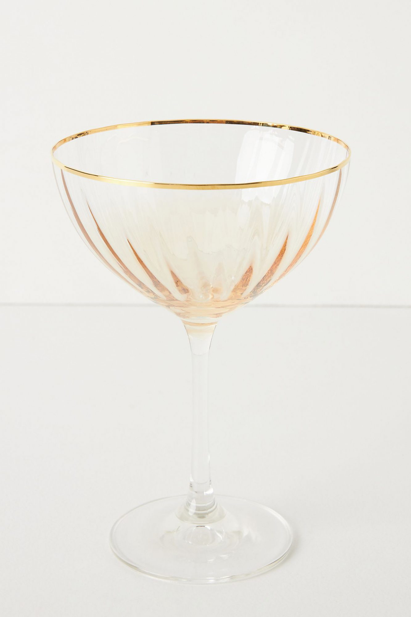 Waterfall Coupe Glasses