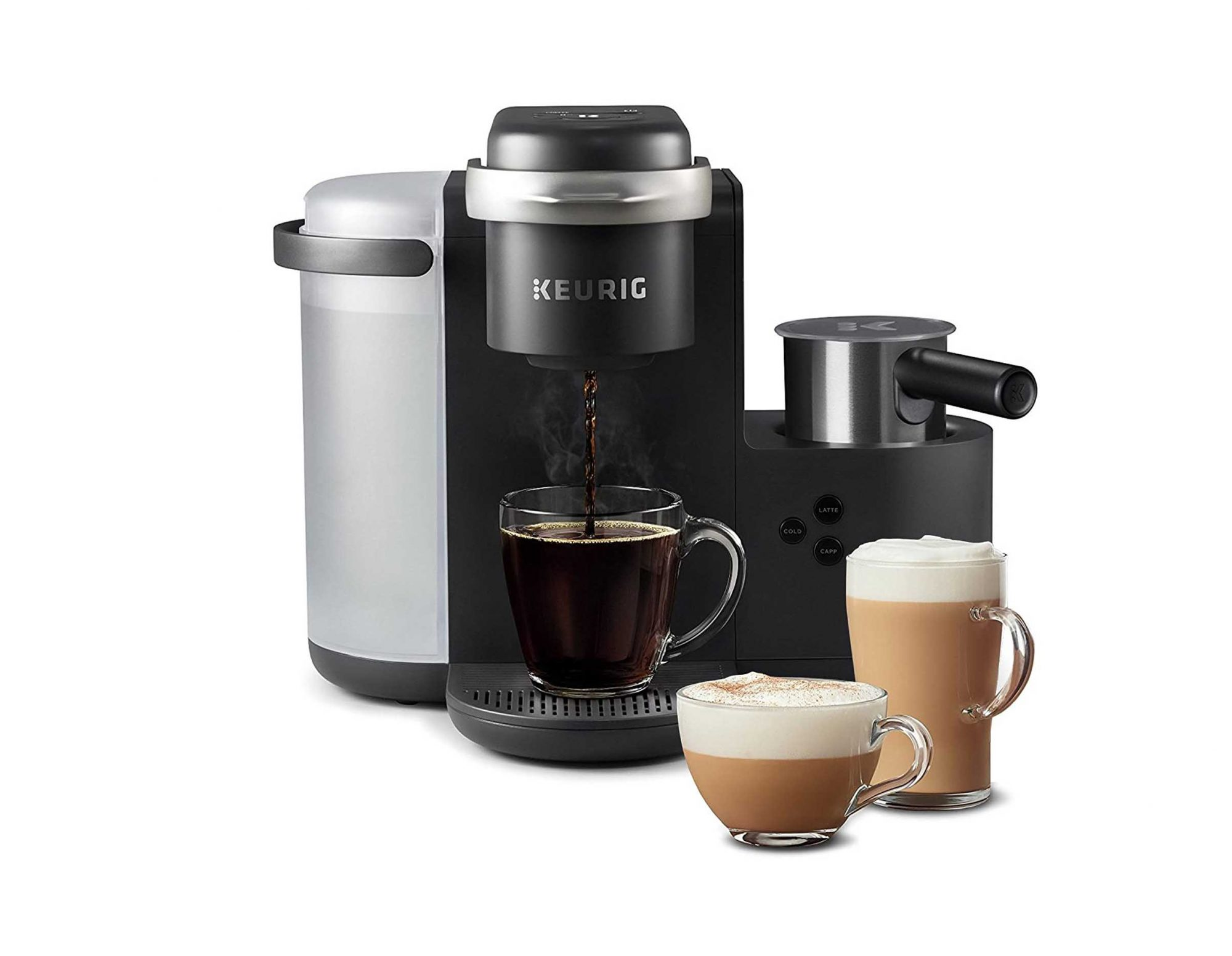 Keurig with Frother