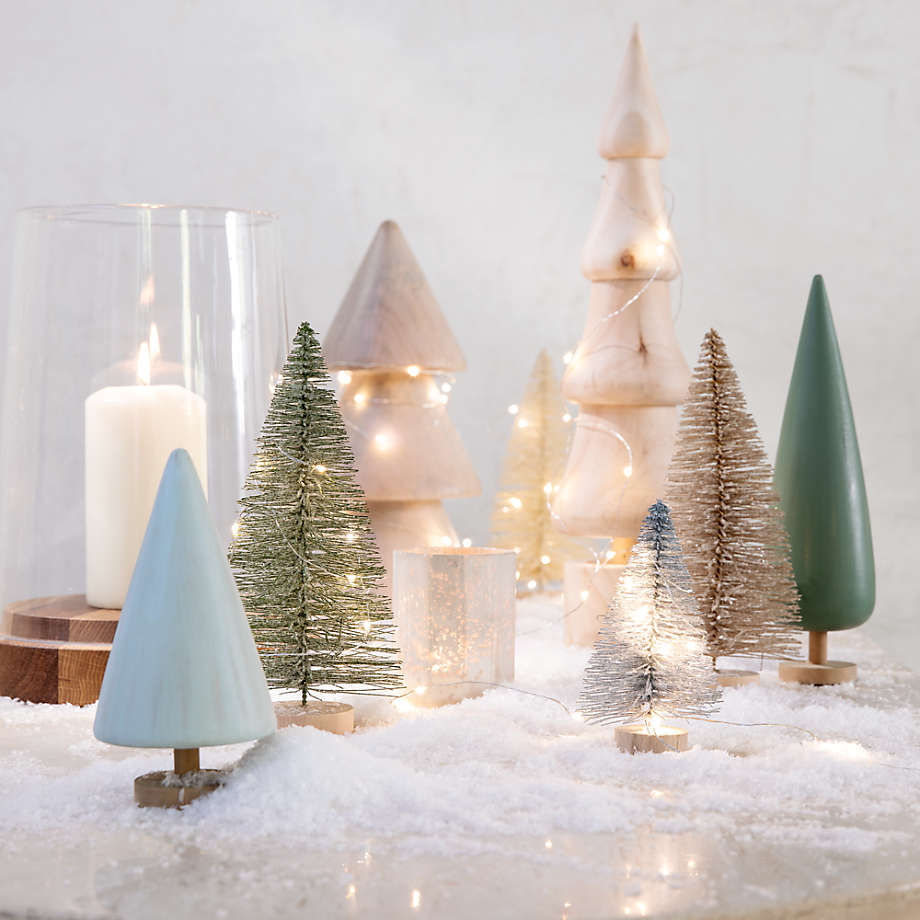 Wood Christmas Decor Accents