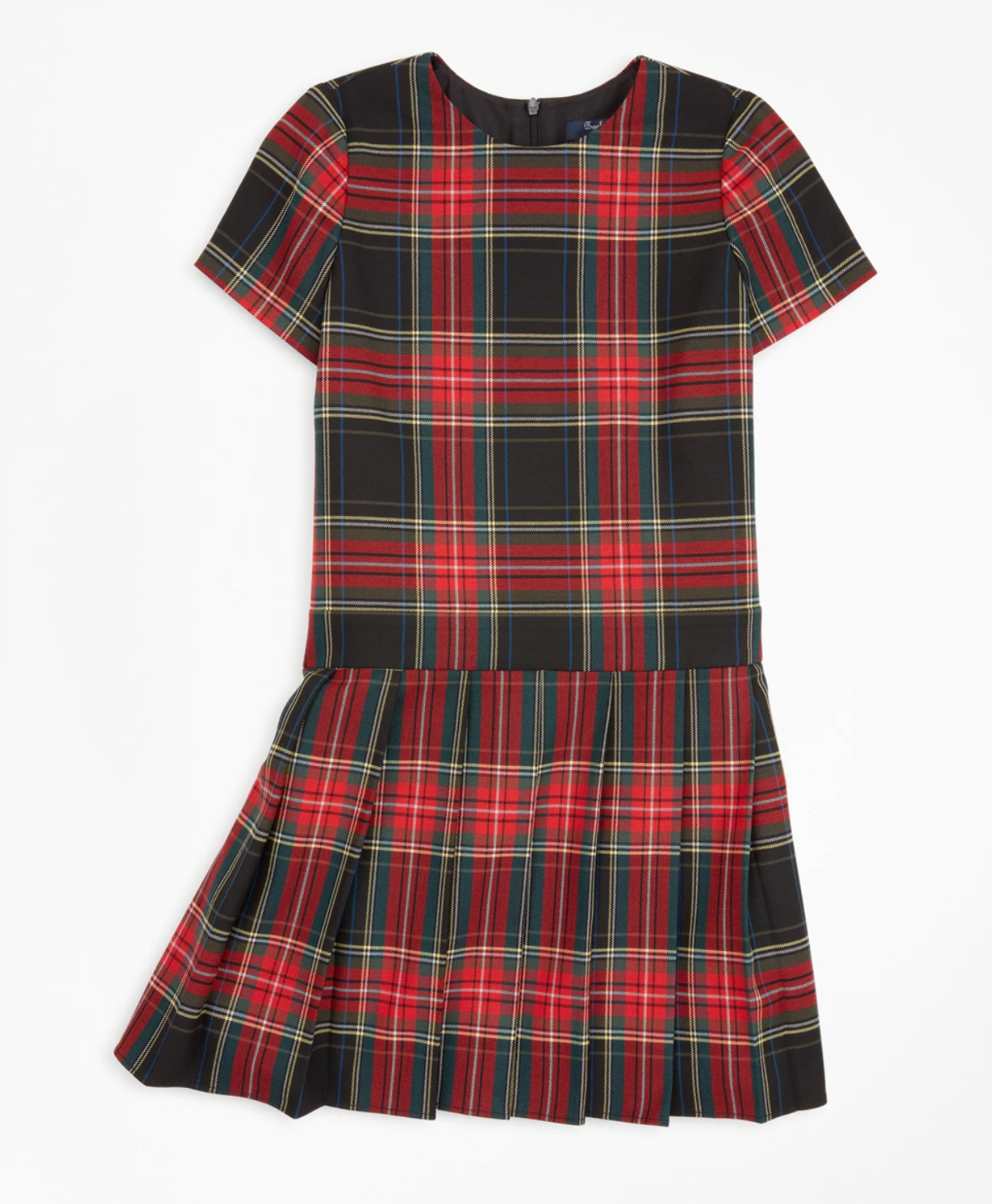BUY: $68.95; brooksbrothers.com                             A festive tartan print, drop waist, and plenty of pleats make this a winter night's dream. Add tights and a velvet hair bow to finish the look.
