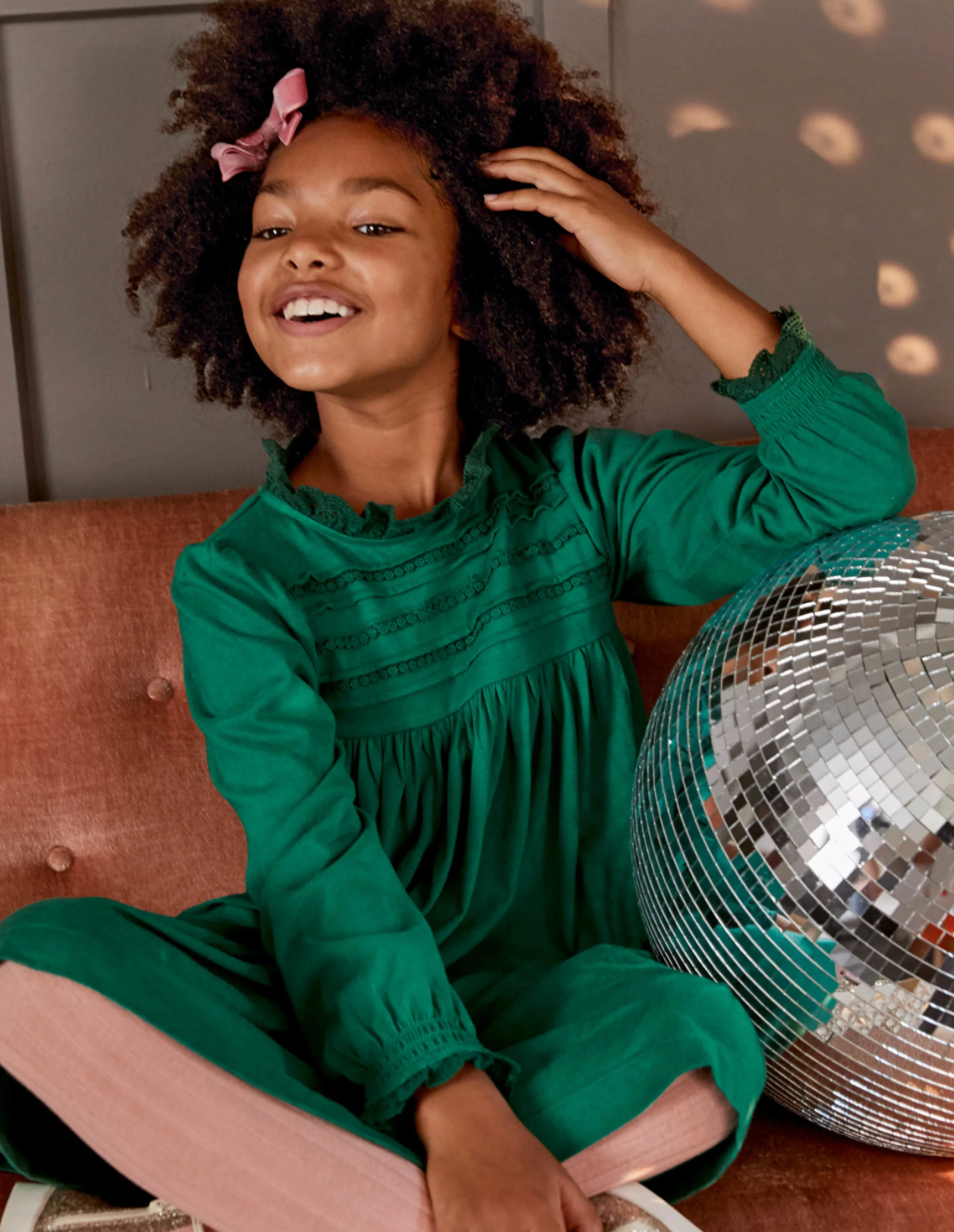 BUY: $79; bodenusa.com                             Pintuck pleating and lace details have earned this cotton dress special-occasion status. It comes in Forest Green, Formica Pink, and College Navy.