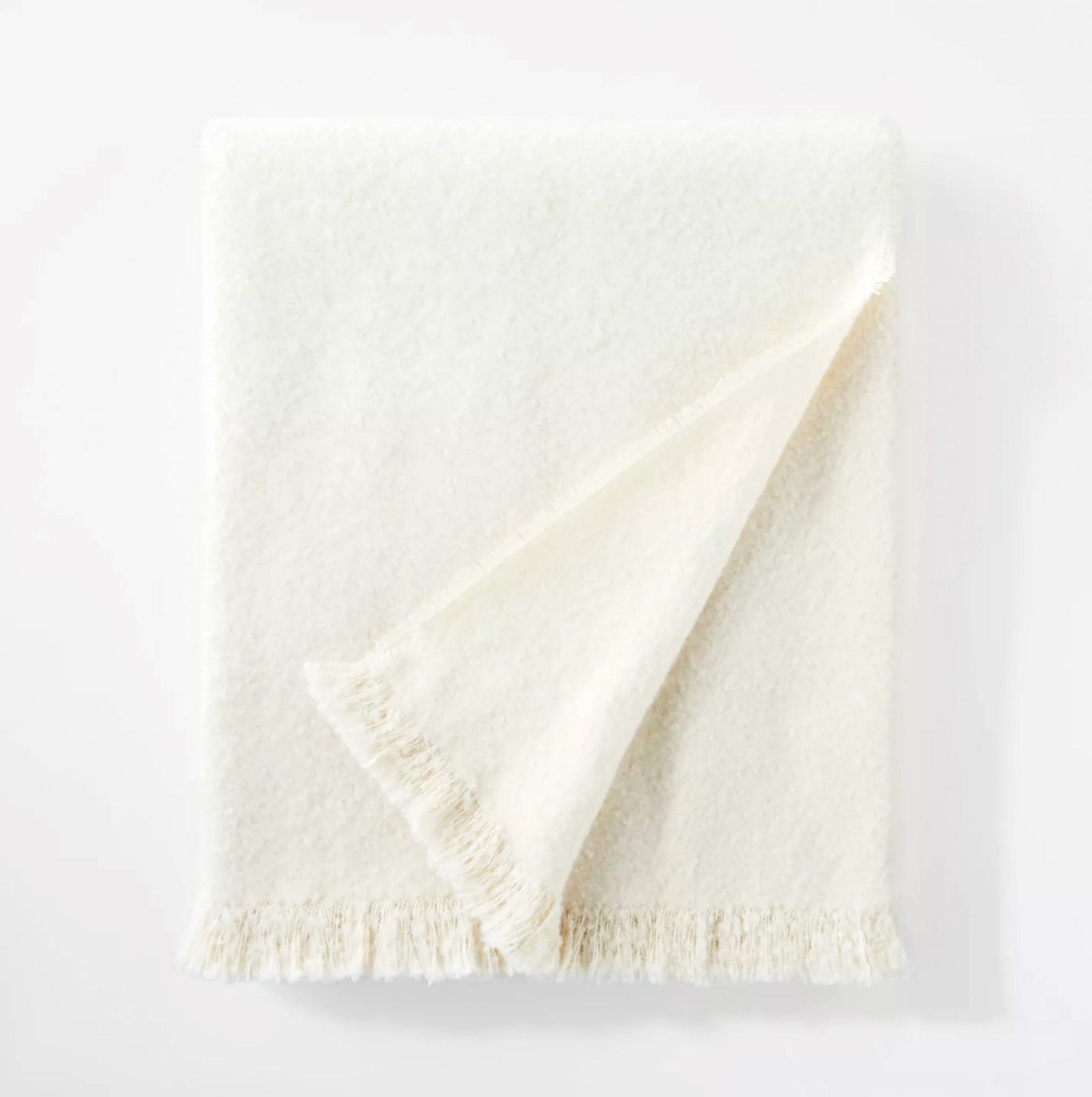 Threshold Boucle Faux Mohair Throw Blanket designed with Studio McGee