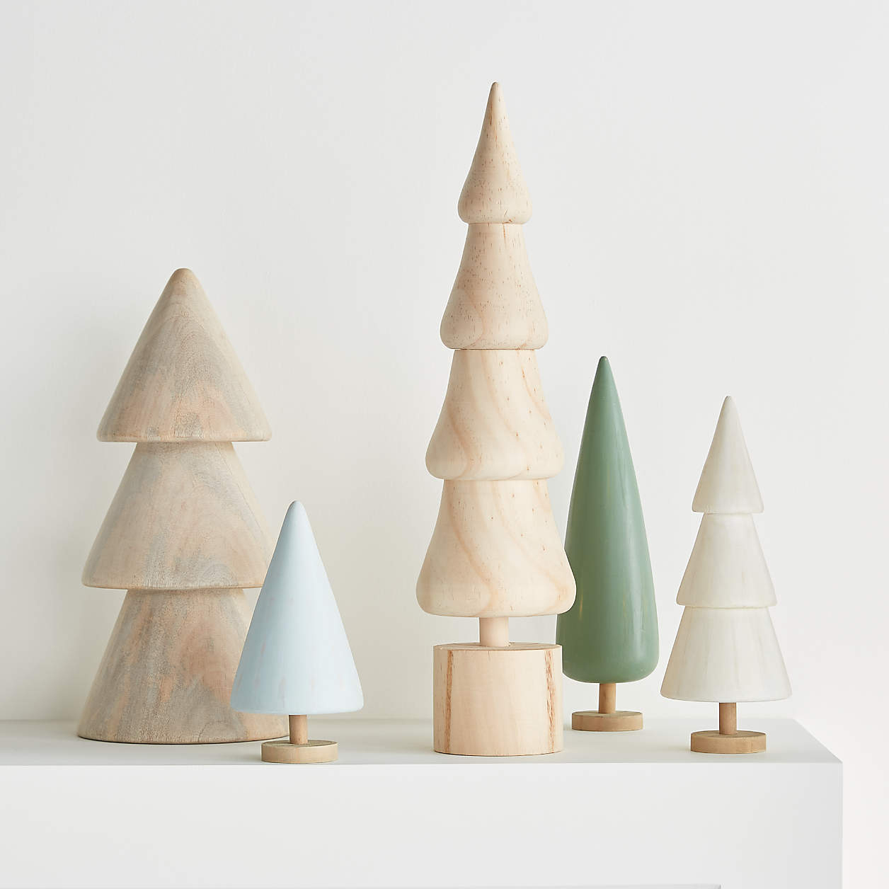 Crate and Barrel Mini Christmas Trees