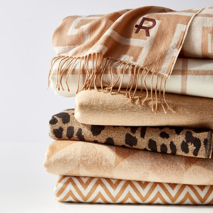 Leopard Throw Blanket
