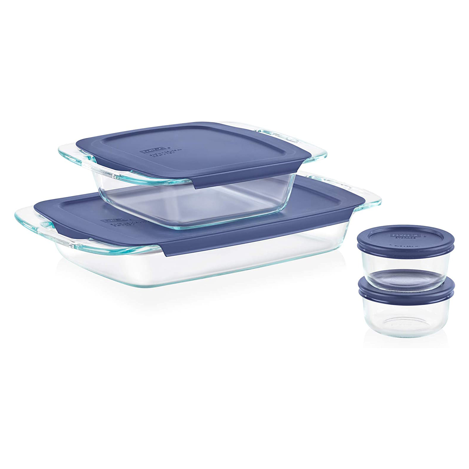 Pyrex Grab Glass Bakeware and Food Storage Set