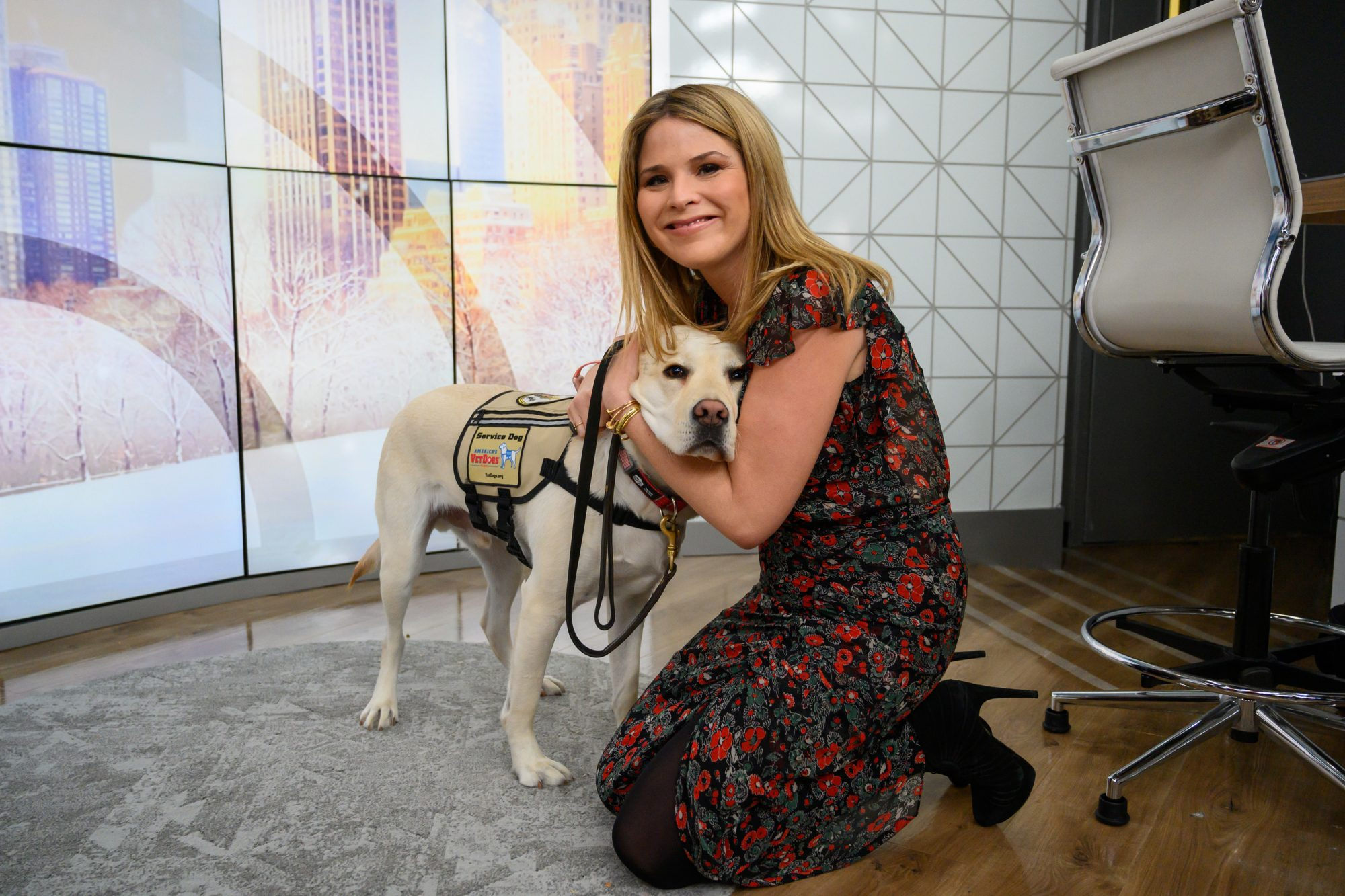 Jenna Bush Hager Sully Service Dog