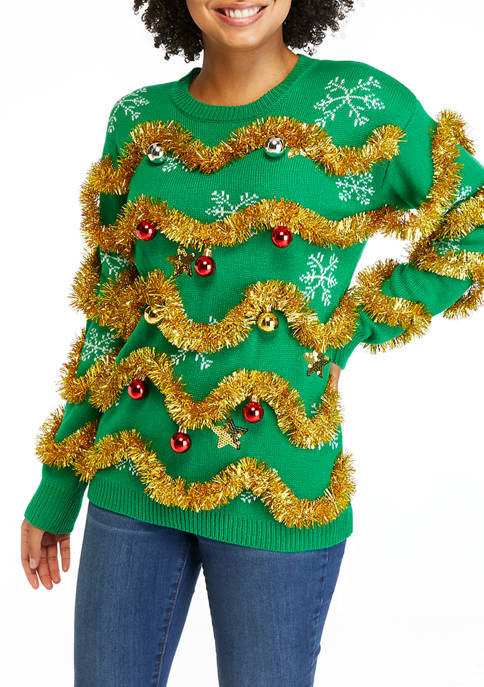 Decorated Christmas Sweater