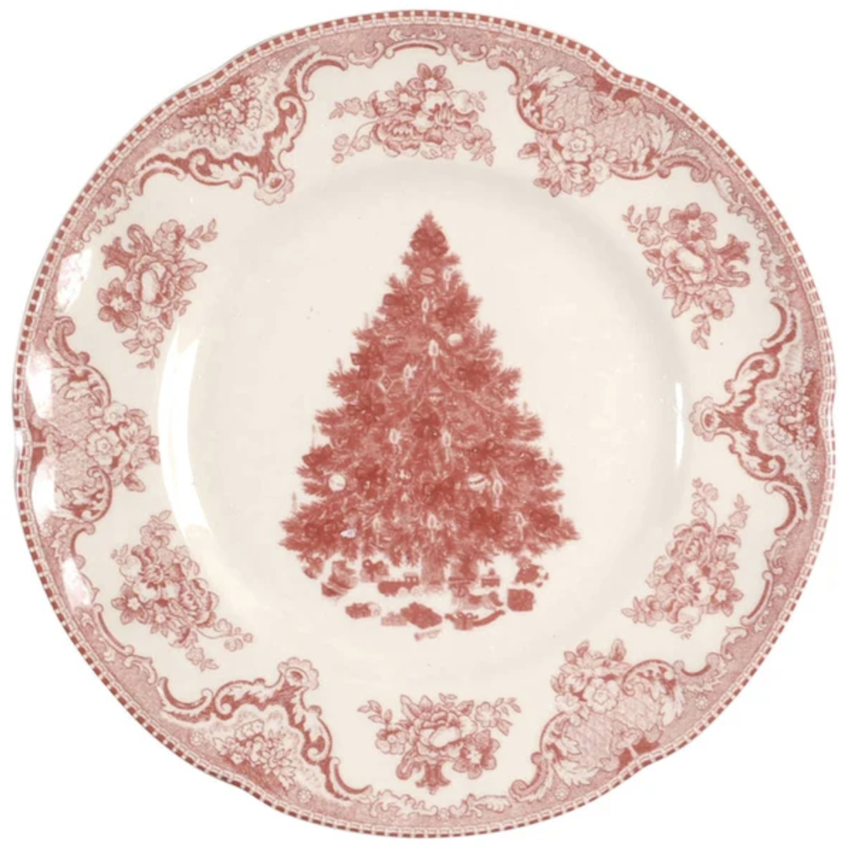 Johnson Brothers Old Britain Castles Pink Christmas