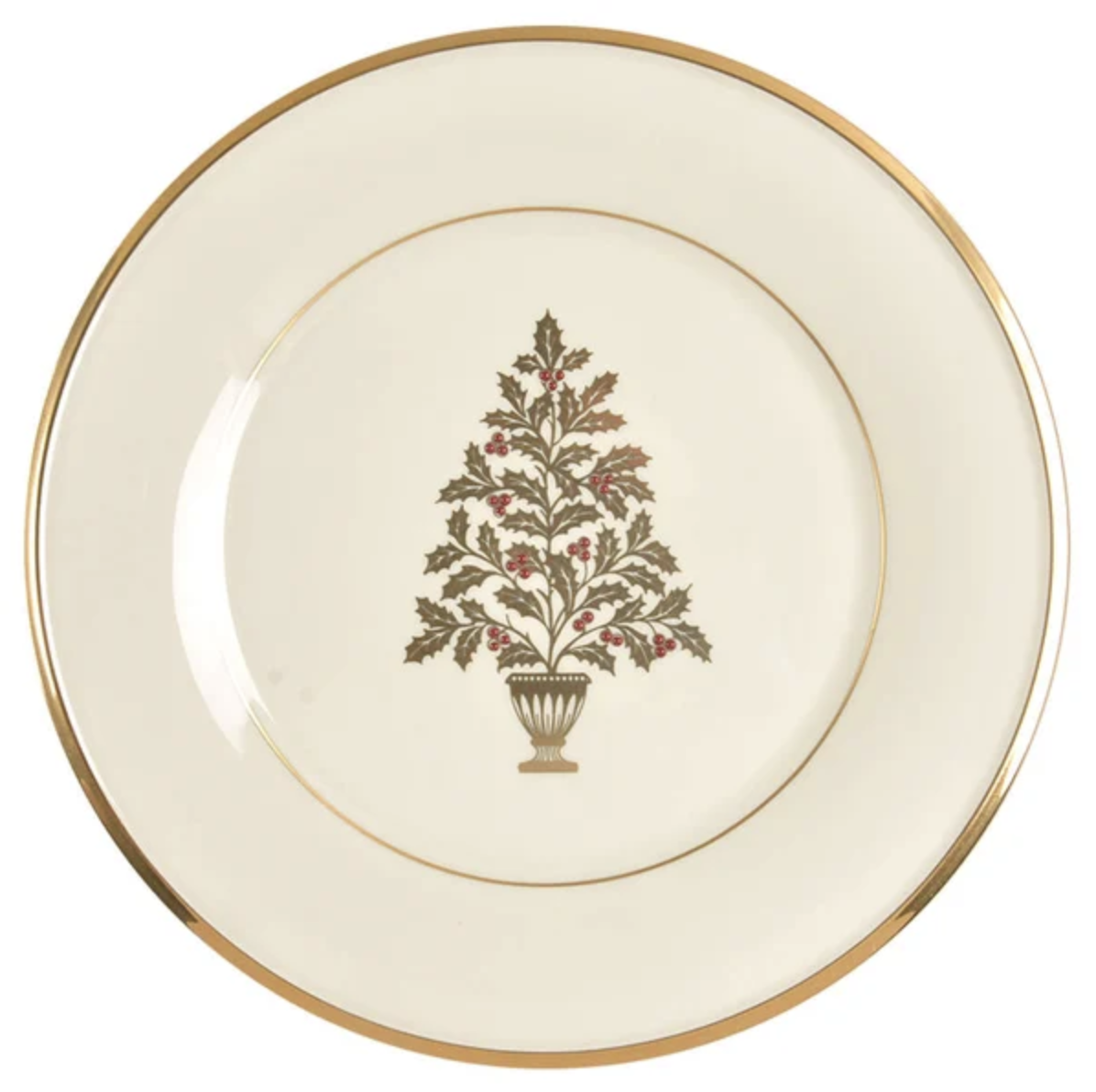 Pair Lenox 'Eternal Christmas' With Royal Crown Derby 'Darley Abbey'