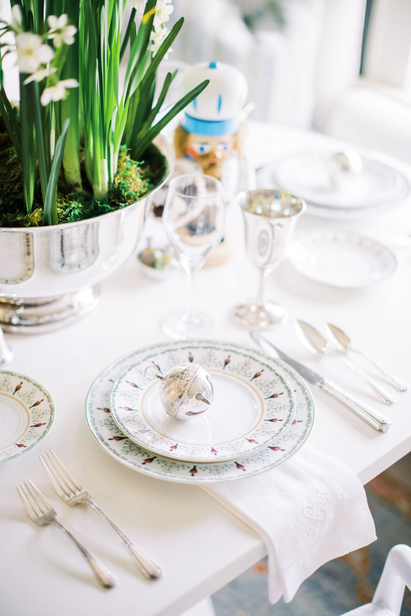 Silver Bell Place Setting