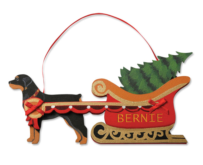 Orvis Dog Breed Christmas Ornaments