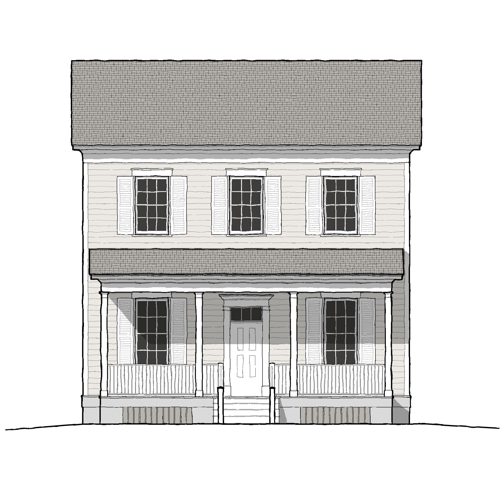 Wagner House Plan 1992