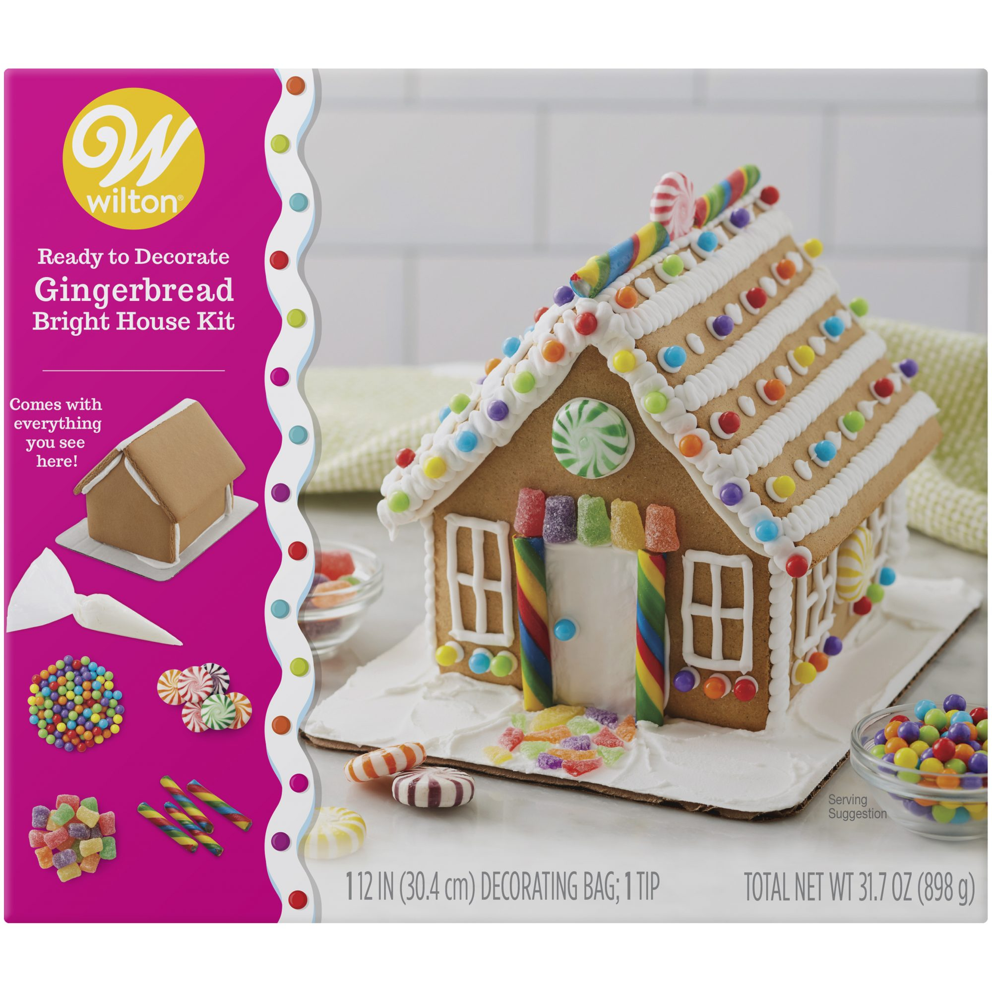 Wilton Bright Gingerbread House