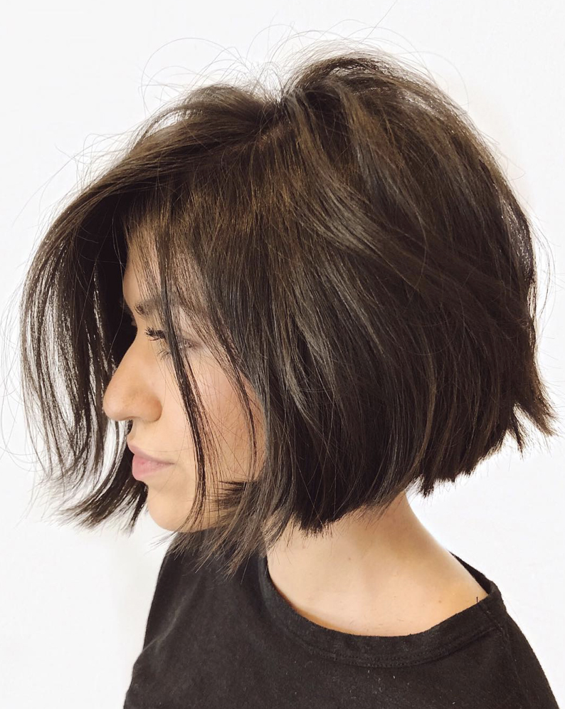 Stacked Chin Bob