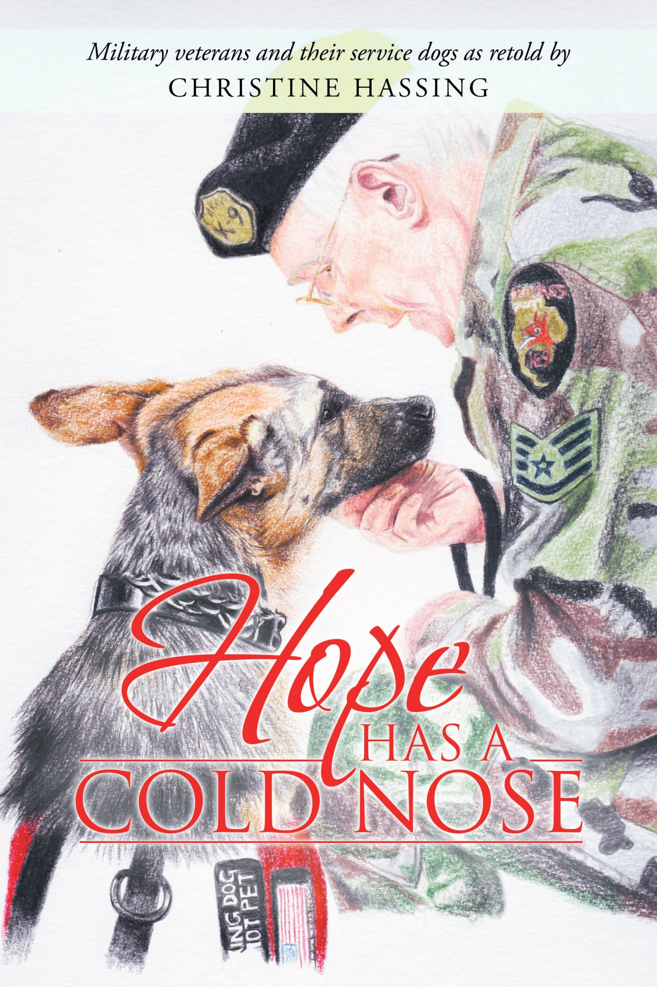 """""""Hope Has a Cold Nose"""" Book Cover"""