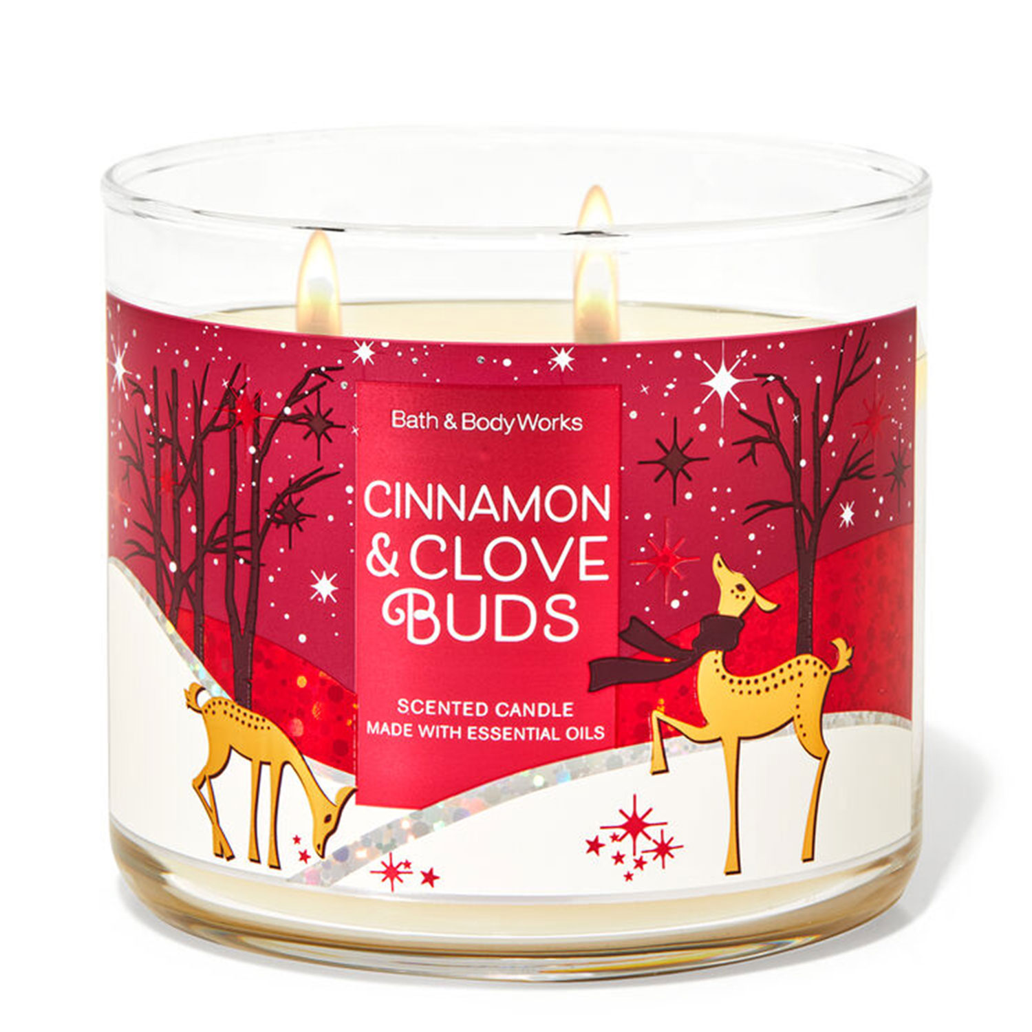 cinnamon and clove holiday candle