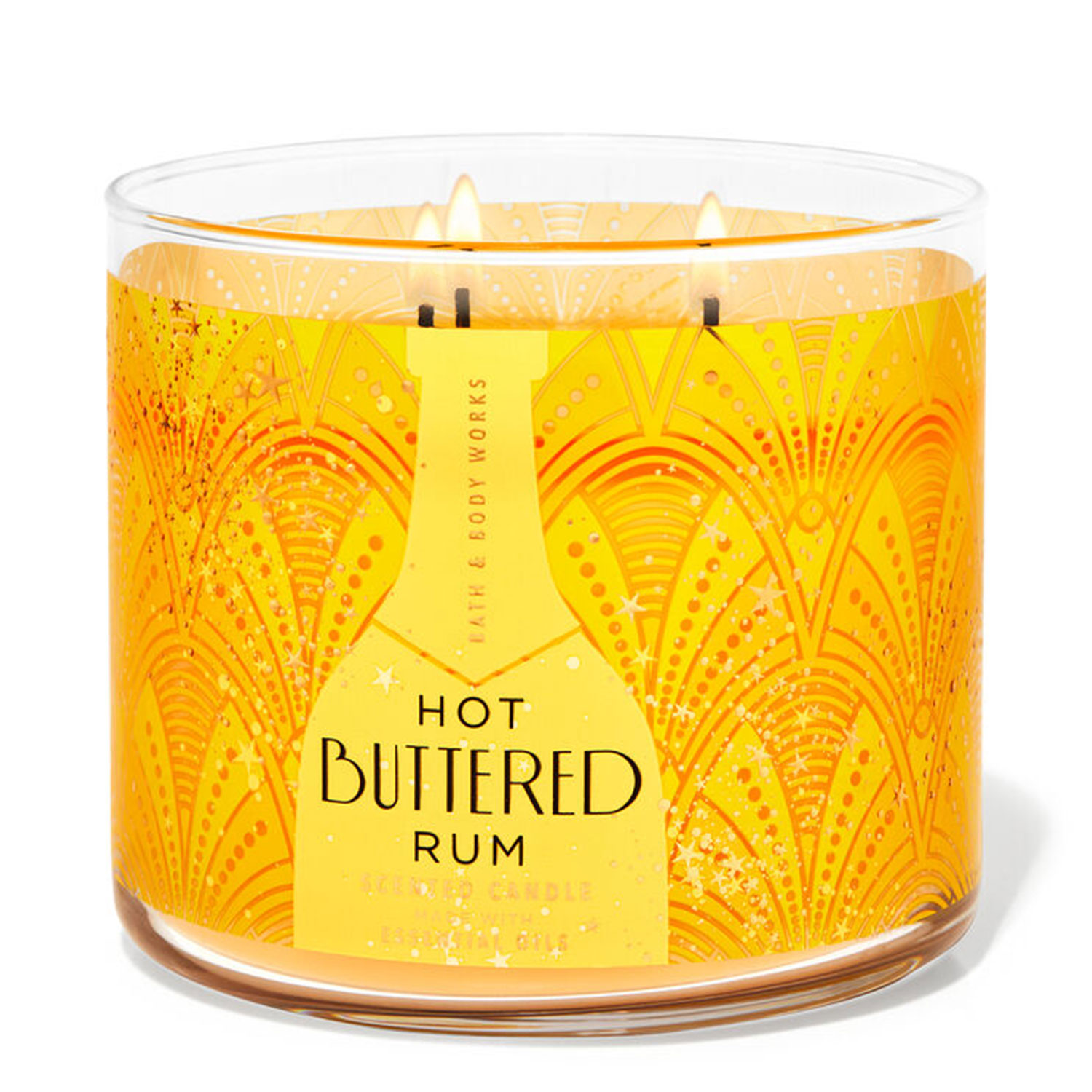 hot buttered rum holiday candle