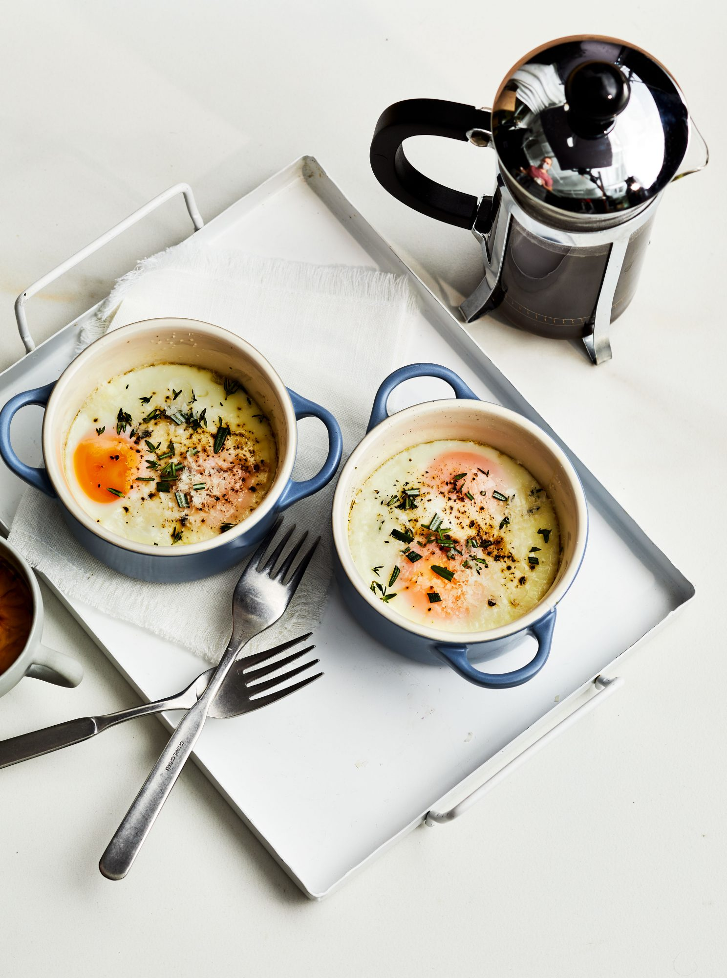Classic Baked Eggs