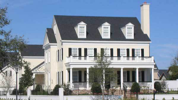 Colonial Chase House Plan