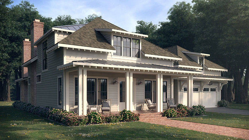 Summertime Lowcountry C Apartment House Plan