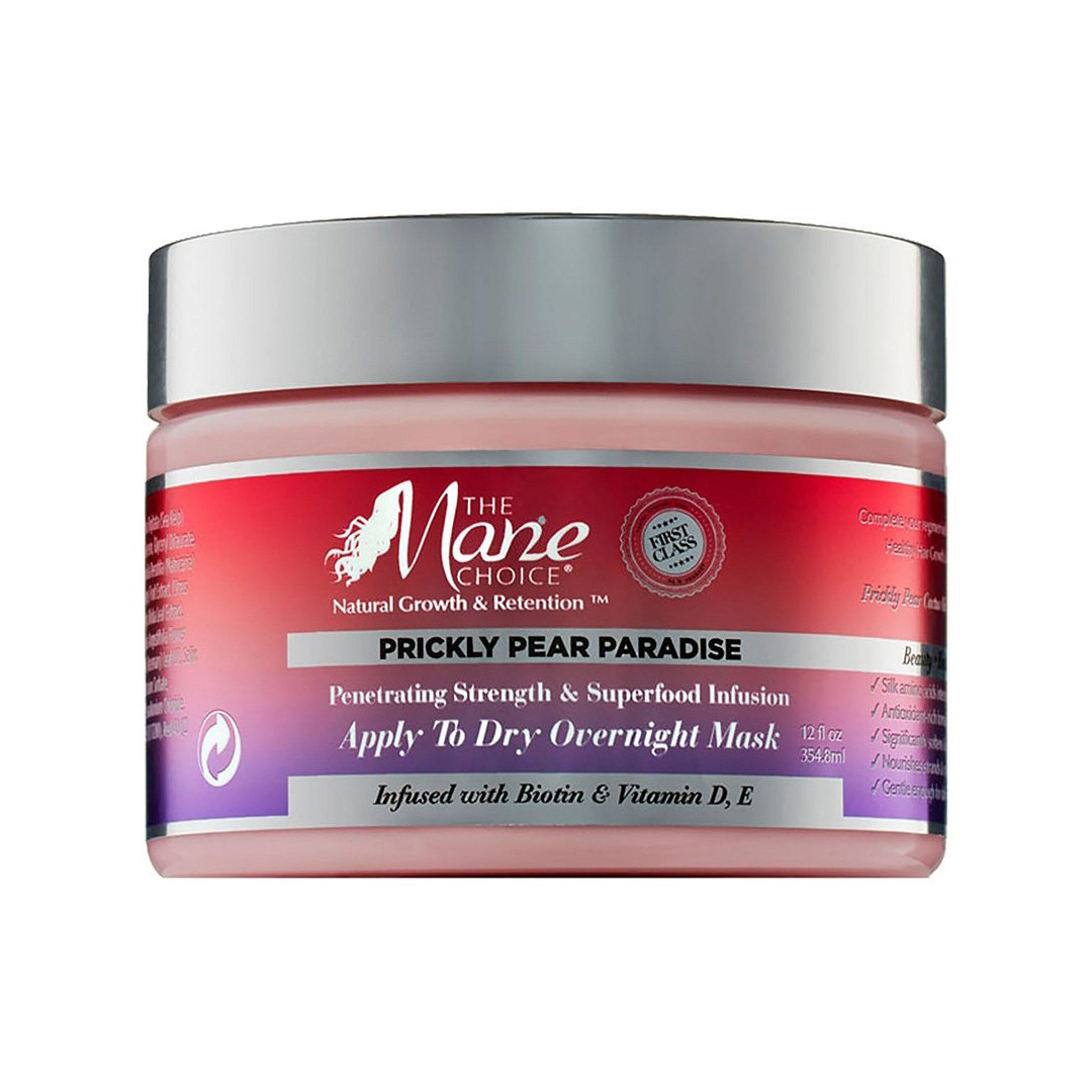 The mane choice prickly pear paradise overnight mask