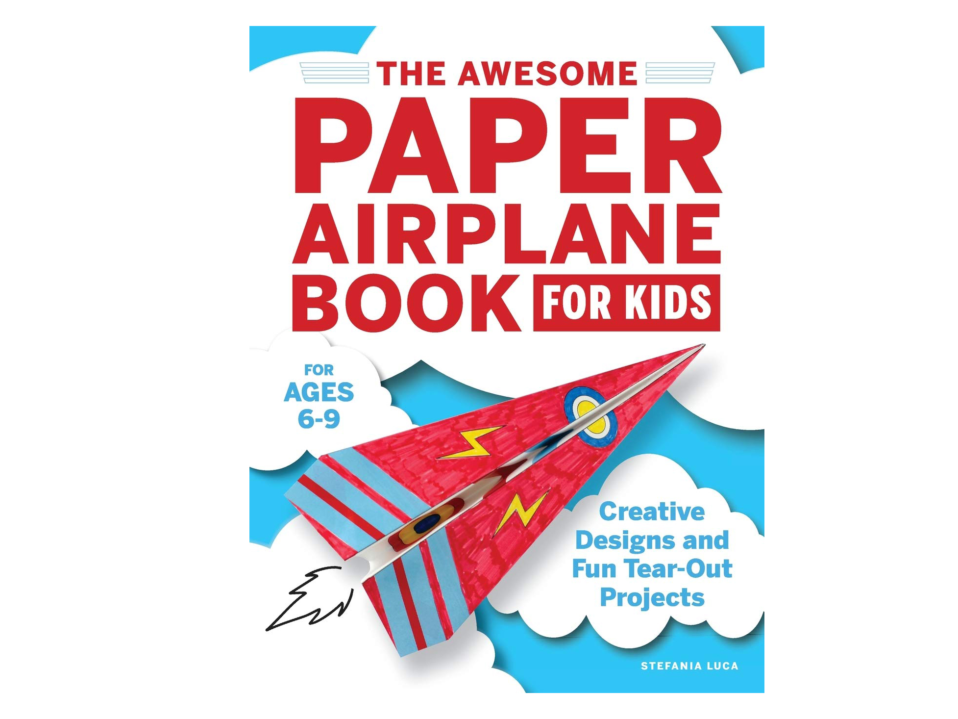 Paper Airplane Book for Kids